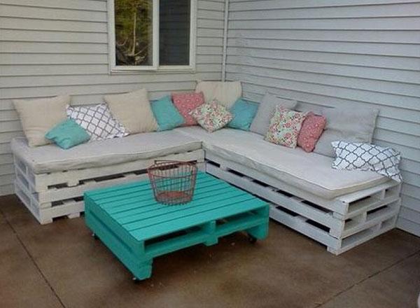 sofa bằng pallet