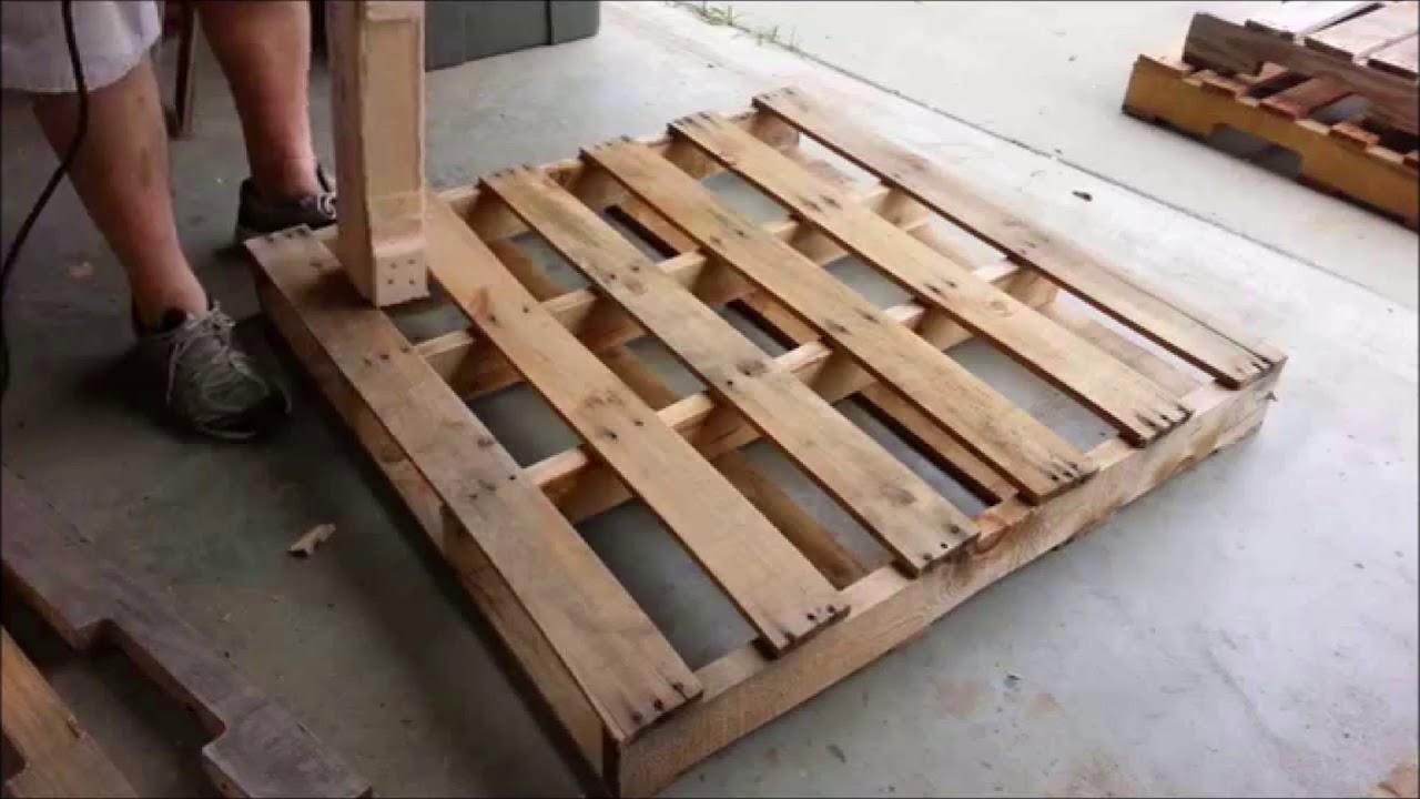 tái chế pallet gỗ