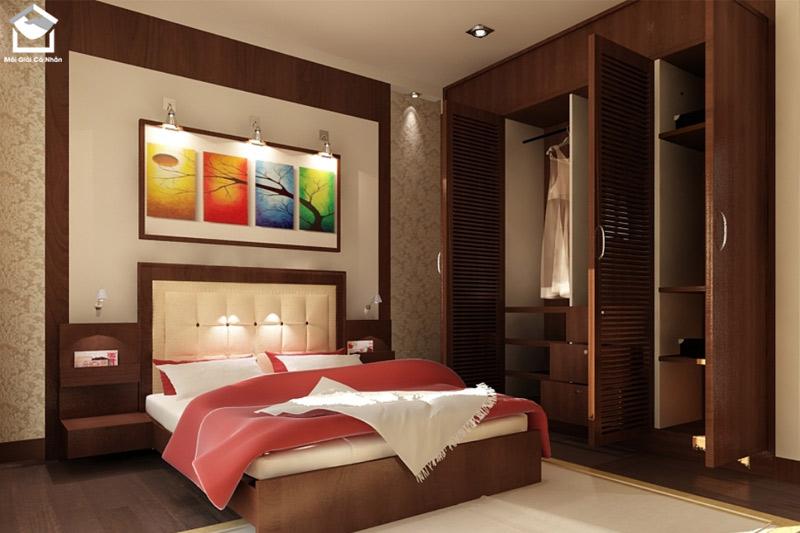 Tuổi Canh Ngọ thuộc mệnh Hỏa nên dùng những màu như đỏ, hồng, tím, cam để sơn phòng ngủ